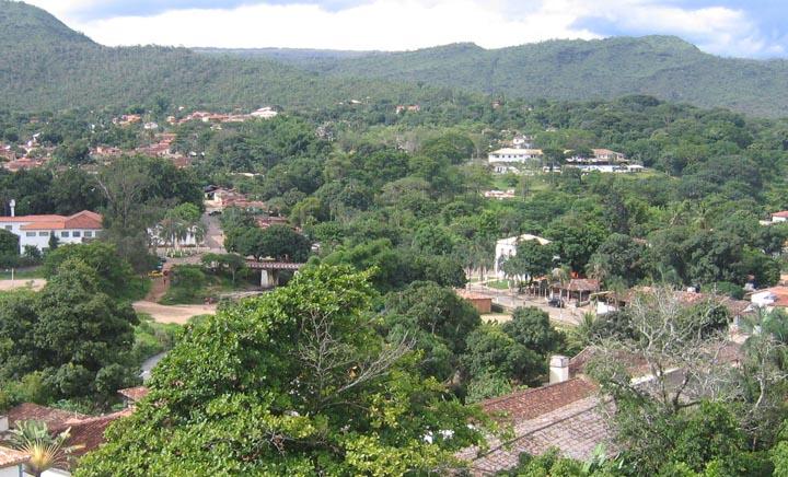 Vista da torre da Matriz
