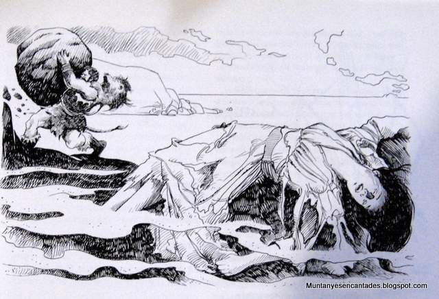Pirene, a Deusa dos Pireneus